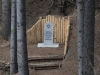 památník v lese - Tršice