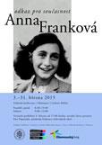 Vernisáž výstavy Anna Franková – odkaz pro současnost