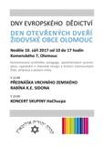 Den otevřených dveří Židovské obce Olomouc