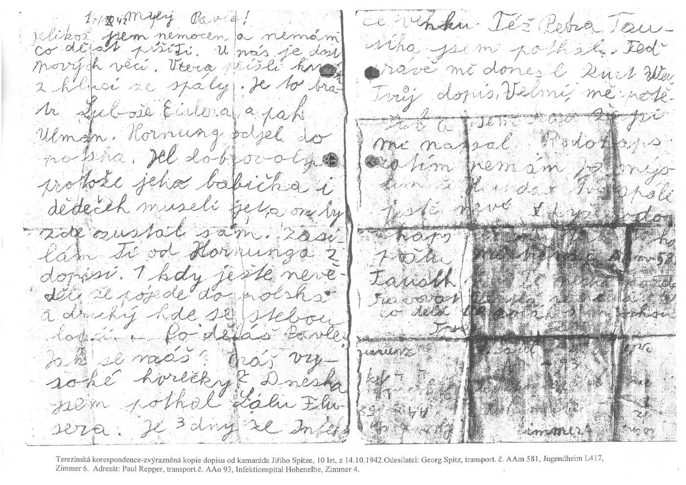 Dopis Spitz