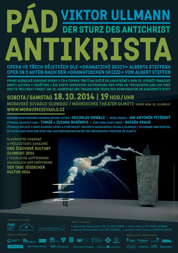 PÁD ANTIKRISTA_plakát