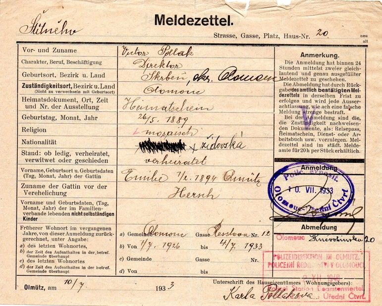 Pollak Viktor_26.5.1889_OL_10.7.1933