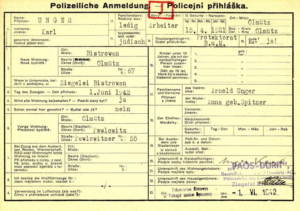 Unger Karel_15.4.1921_PP_1.6.1942_1_líc