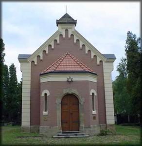 Obřadní síň židovského hřbitova