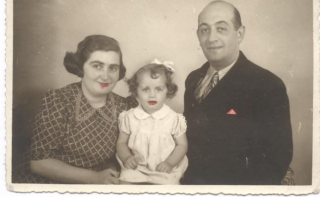 rodina Schwarzů - Irena, Ilona, Karel