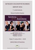 Koncert Shirim Ashirim – synagoga Krnov