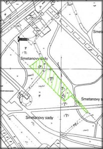 Old Cemetary - Register map of the area