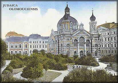 ohlednice olomoucké synagogy